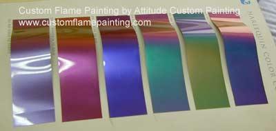 Ppg Car Paint Colors >> Ppg Harlequin Color Shift Color Charts Attitude Paint Jobs